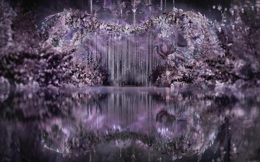 Mauve | 唯美梦幻华丽精灵系室内女神婚礼