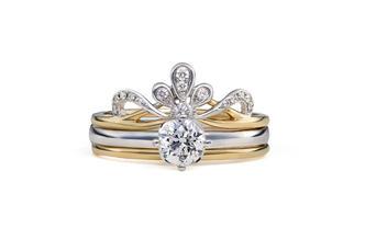 梵尼洛芙-赫拉丨设计款时尚叠戴钻戒婚戒