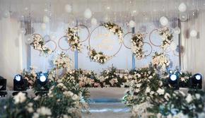 【爆款推荐 一价全包】白蓝色轻奢婚礼《玻璃糖》