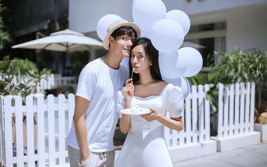 告白气球——巴黎世家婚纱摄影案例