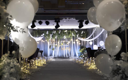 【一禧婚礼策划】小清新告白气球性价比高
