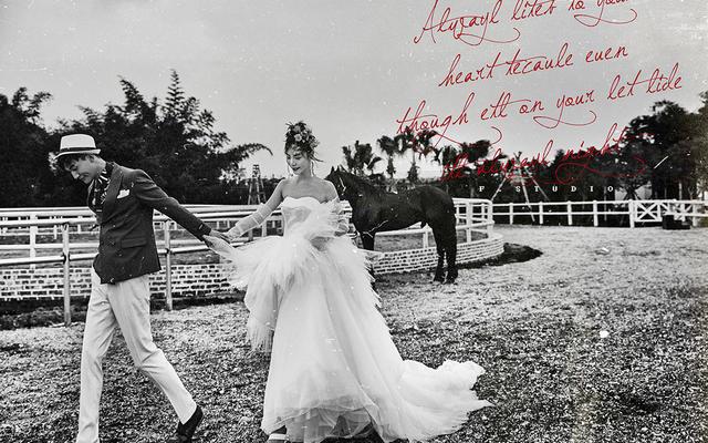 成都婚纱摄影 新主题  新景点之幸福马场