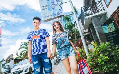 爱旅拍巴厘岛•客照欣赏•时尚街拍•邵&陆