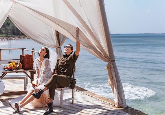 全包价无套路-海景游艇拍-星级酒店-三亚婚纱照