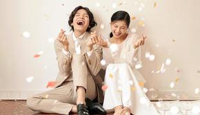 【新韩式系列】 广州每3对婚纱照就有1对在爱城拍
