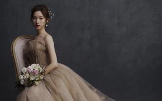 【立减2000】高级款进口长拖尾公主梦幻婚纱