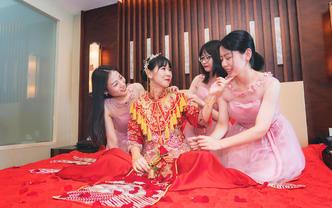 单程婚礼接亲跟拍或晚宴照片拍摄