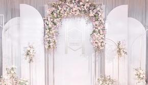 完美婚典-简约高贵的香槟色主题婚礼