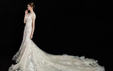 Lovely Bride-立体花朵鱼尾