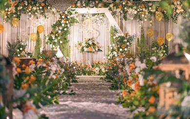 【橙果】清新韩式唯美森系婚礼