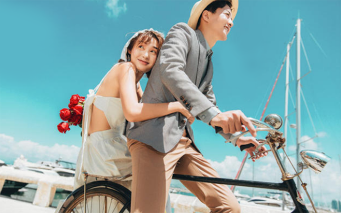 城市旅拍+纪实小清新+海景系列
