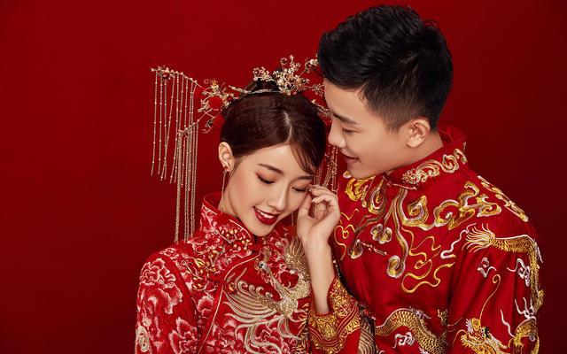 世纪佳人婚纱摄影-中国风