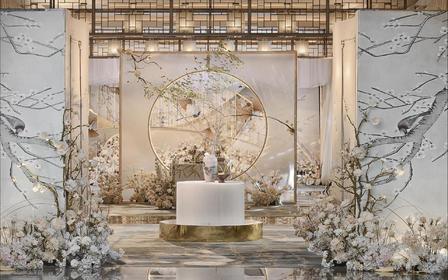 【伯妮】超人气热卖 香槟色新中式婚礼 小仙女必选