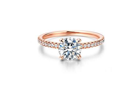 壹爱钻石定制款钻戒——深海之爱
