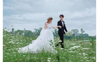 婚纱照【团购特惠】森系清新婚纱照+赠全新婚纱+风