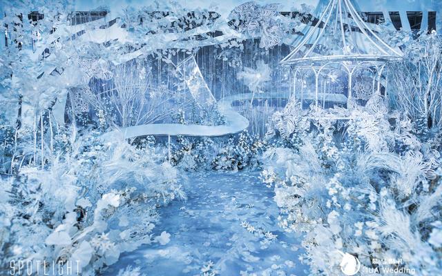 冰雪奇缘,晶莹剔透的蓝色王国