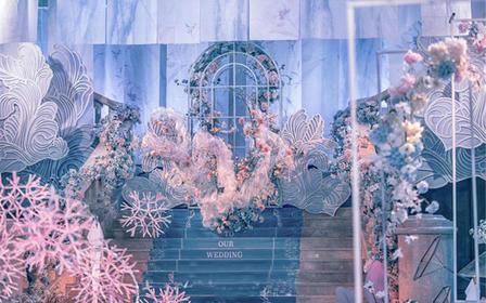 【瑰丽】(西式室内)暗场立体空间造型婚礼