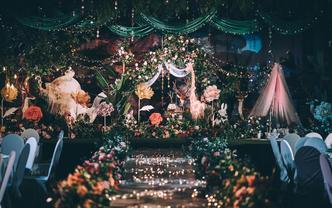 【全新设计,好评如潮】森林精灵,森系婚礼