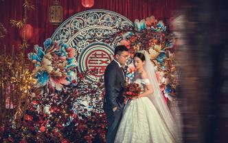 【伯妮】大气撞色新中式婚礼