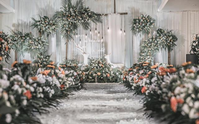 【一路有你】森系INS复古系婚礼