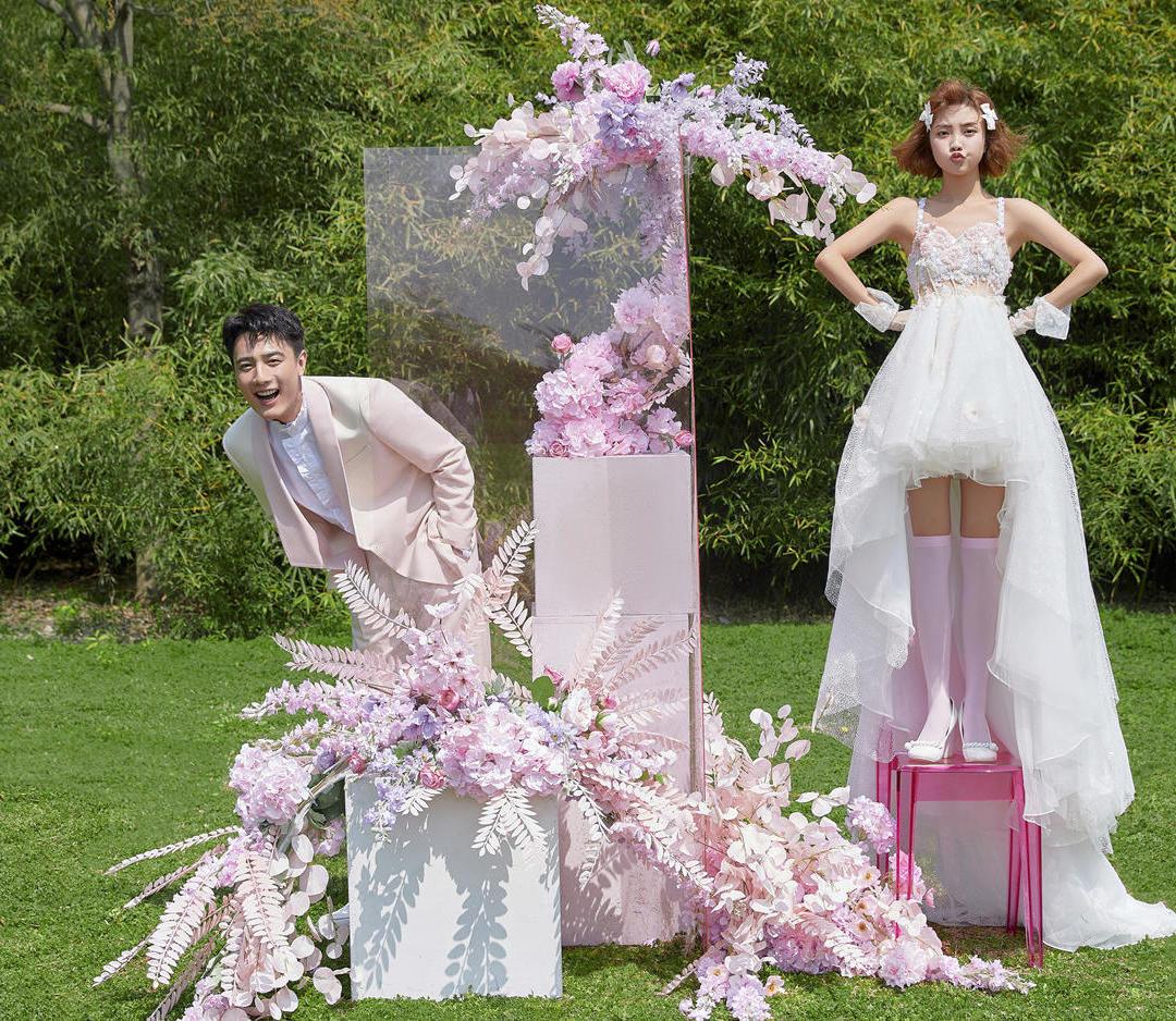 婚纱照就要有仪式感!情节拍摄+外景专车+私人订制