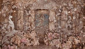 蔷薇婚礼|古典欧式奢华复古宫廷婚礼维纳斯皇家酒店