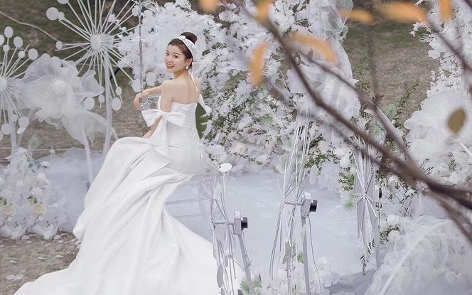 【潮婚节】AK婚纱·梦幻主纱一件套系