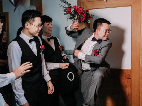 经典档单机位婚礼摄影原片全送精修60