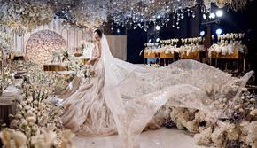 香槟色梦幻婚礼丨一价全包 资深四大金刚