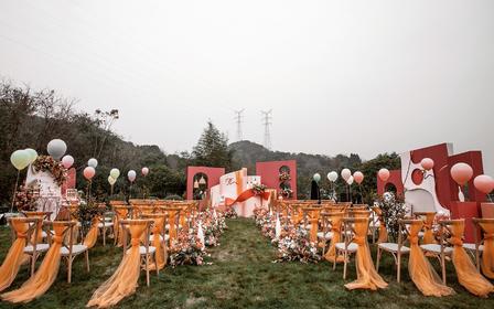 给你种块草坪,我们结婚吧【含主景迎宾座椅布置】
