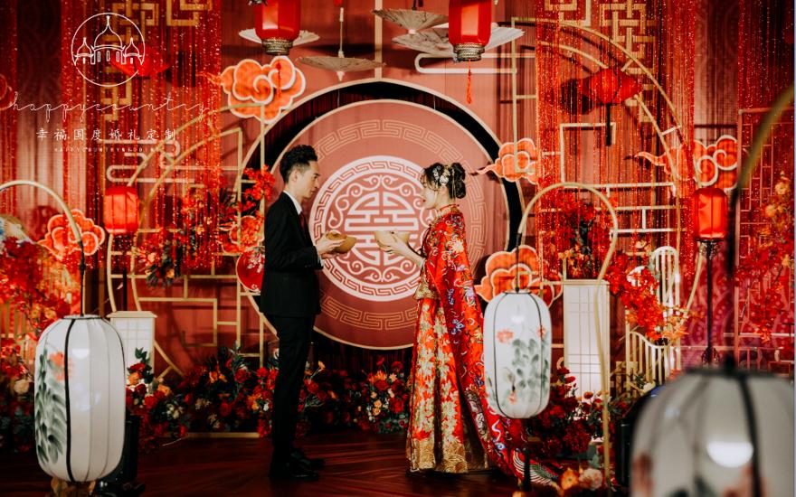 中式婚禮紅金主題婚禮(套餐16800)