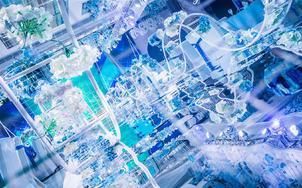 【禧巷婚礼】高级质感蓝色婚礼·低预算