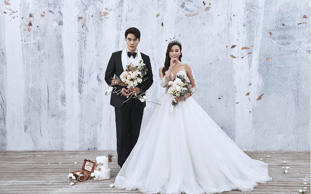 【口碑超值】旅拍婚纱照碧海蓝天蜜月婚照一价全包