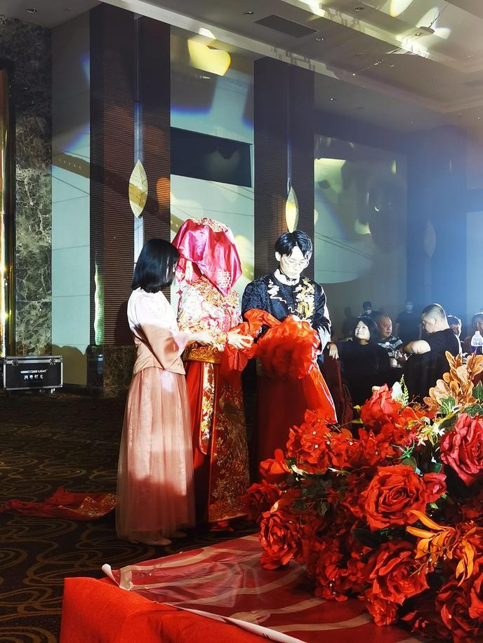 去当伴娘后被闺蜜的中式婚礼种草啦!