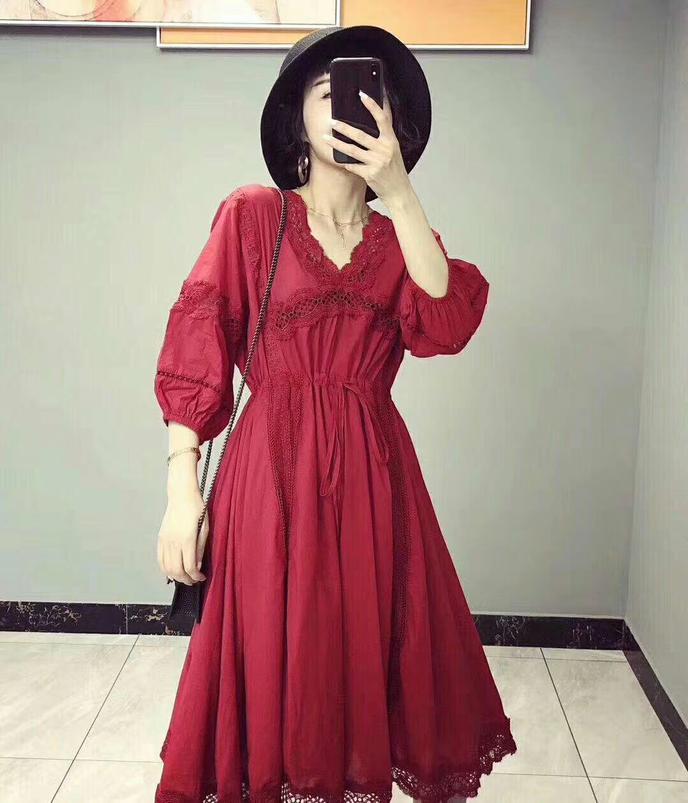 不懂风俗,回门衣服必须穿大红色么~