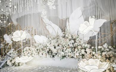 唯美浪漫低调奢华的婚礼,时尚高端大气!