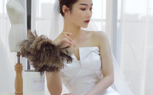 气质缎面婚纱|优雅到极致
