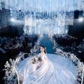 我的梦中婚礼—糖分超标的蓝色婚礼,爱了爱了!