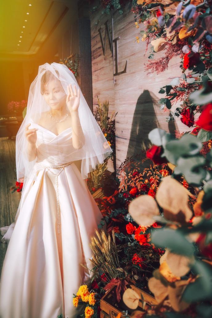 我的婚礼全过程,户外仪式和晚宴风格不一样也可以很美