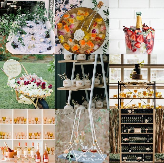备婚的你会因为这些超美饮品选在夏季婚礼吗?