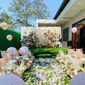农村小院农村户外婚礼也可以这样美