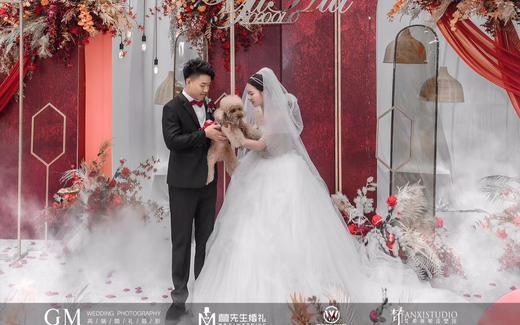 户外浪漫唯美个定制性婚礼