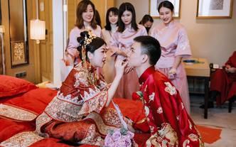 婚礼跟拍 婚礼摄像 单双机位