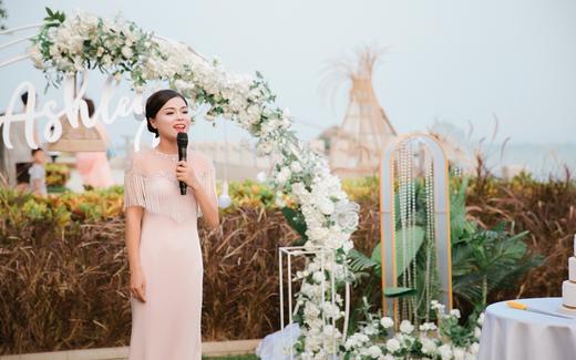 横琴湾酒店草坪婚礼|温暖细腻治愈