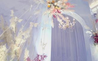 雷州金育满堂婚庆策划|【拾祎】雾霾蓝婚礼