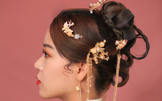 资深化妆师新娘早妆面造型