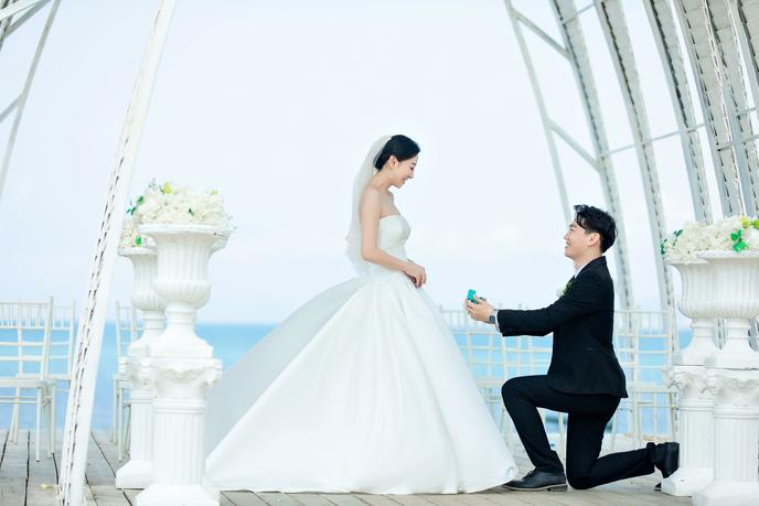 5k+三亞旅拍:便宜又好看的婚紗照范本