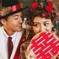 网红爆款婚纱照,中西结合也太好看了!
