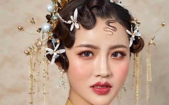 首席化妆师新娘全程跟妆造型