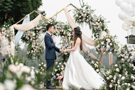 草坪婚礼——清新自由